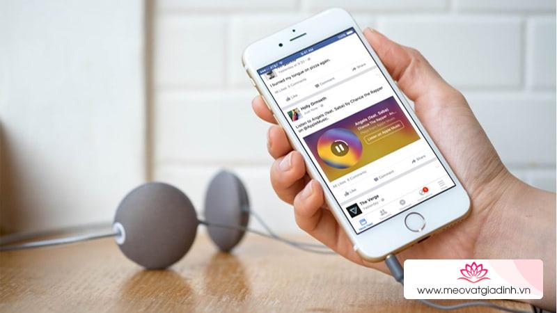 Hướng dẫn bạn thêm bài hát yêu thích vào hồ sơ Facebook cá nhân