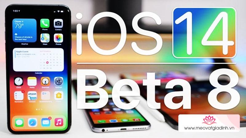 Hướng dẫn cách cập nhật lên iOS 14 Beta 8 với nhiều tính năng mới hấp dẫn