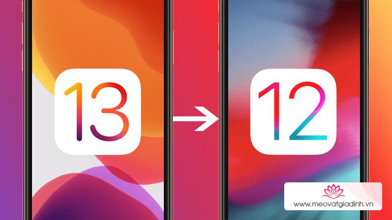 Hướng dẫn hạ cấp iOS 13 về iOS 12 trên máy tính Windows