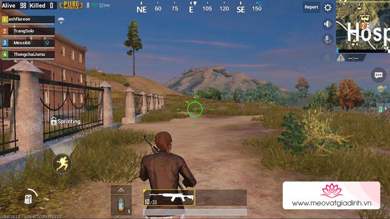 Mẹo bắn bách phát bách trúng trong game FPS như: PUBG mobile, CF Legend,…