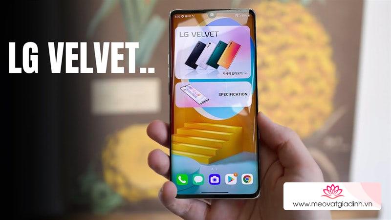 Mời bạn tải bộ hình nền của LG Velvet 2020 rực rỡ, đầy màu sắc