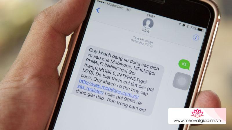 Cách tra cứu thông tin thuê bao Viettel, Vina, Mobi để tránh bị khoá SIM