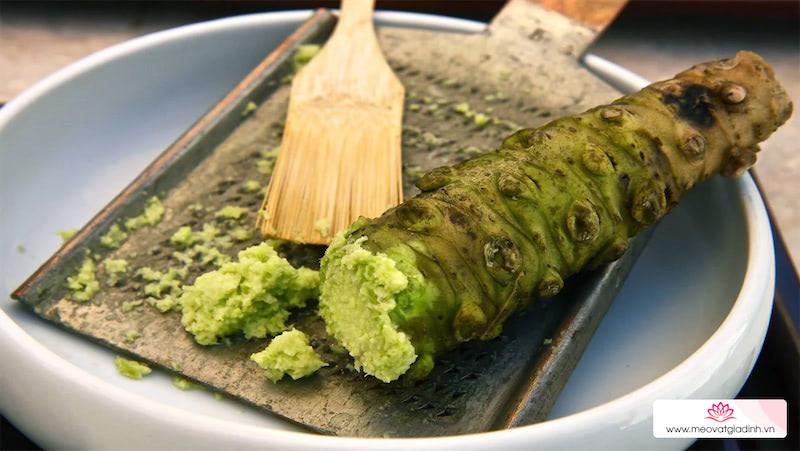 Wasabi là gì? Khác gì với mù tạt? Phân biệt wasabi thật giả và các món ăn