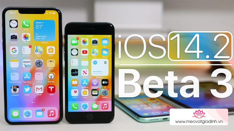 Xài iOS 14.2 còn nóng và lag, nâng cấp ngay iOS 14.2 Beta 3 để sử dụng ổn định và khắc phục các lỗi trước kia