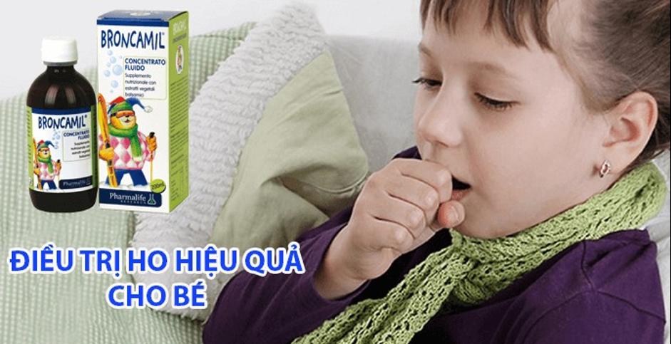 Fitobimbi broncamil –  Vệ sĩ bảo vệ hô hấp của trẻ