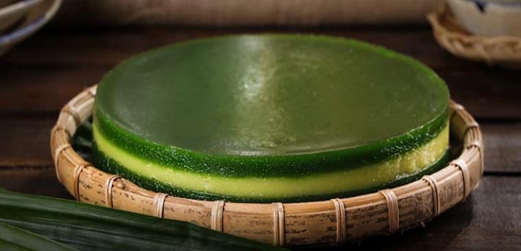 Cách làm bánh da lợn thơm bùi vị đậu xanh lá dứa cực ngon