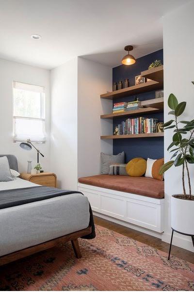 Mẹo trang trí thiết kế phòng ngủ đơn giản nhưng lại thoải mái và thư giãn